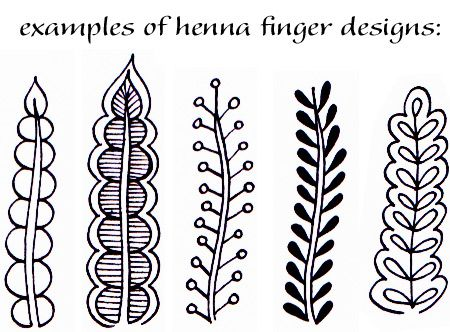 Henna Hand Designs Art Lesson: Make a Unique Self-Portrait — Art is Fun