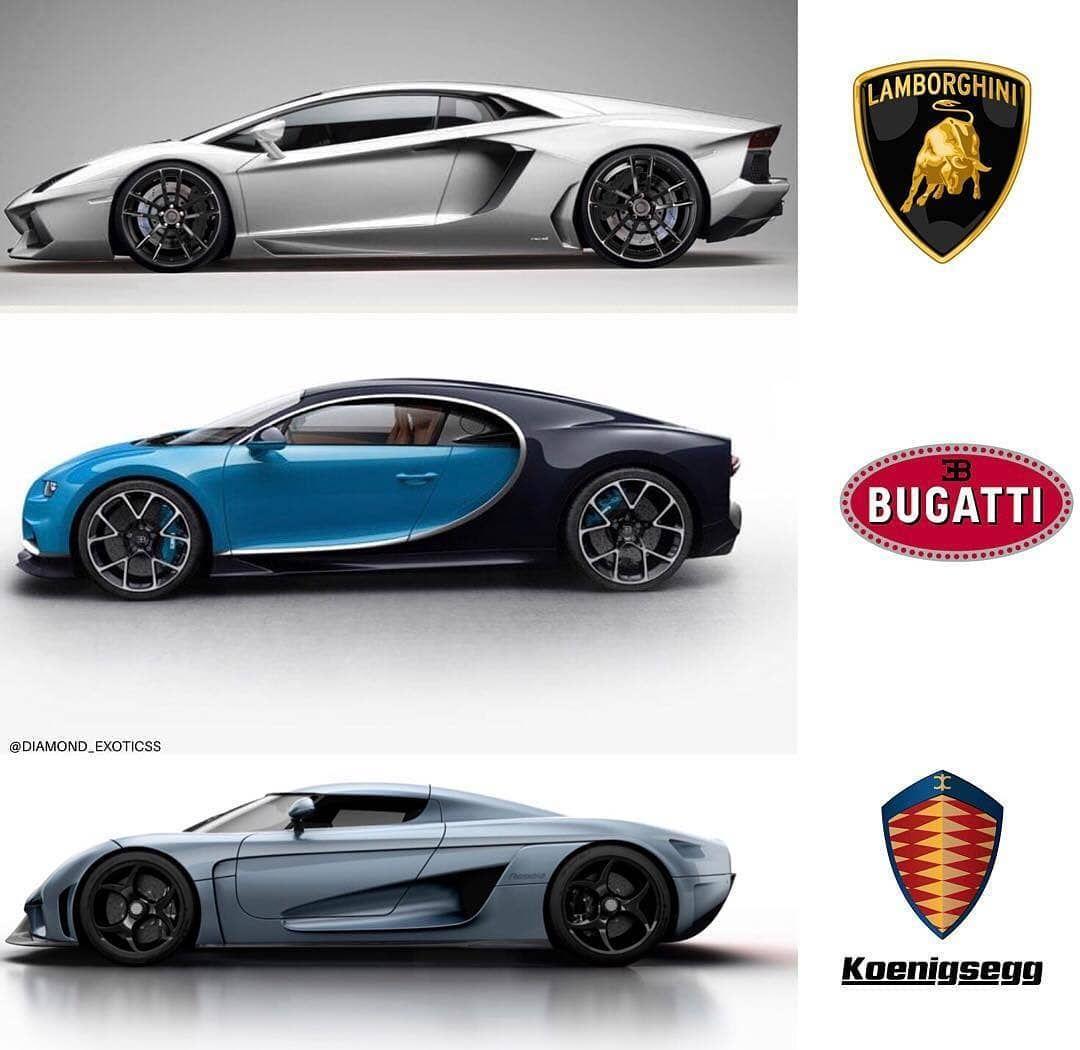 Bugatti Veyron Bugatti Bugatti Cars: Lamborghini Aventador Bugatti Chiron Or Koenigsegg Regera