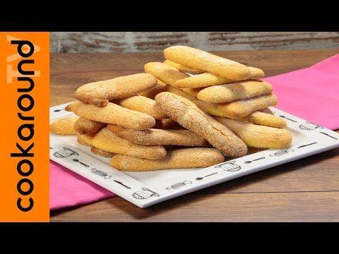 Savoiardi fatti in casa / Ricette biscotti facili e veloci - YouTube