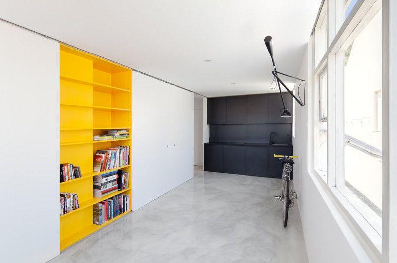27 quadratmeter k nnen so gro wirken wenn man sie rictig einrichtet dieses studio in sydney. Black Bedroom Furniture Sets. Home Design Ideas