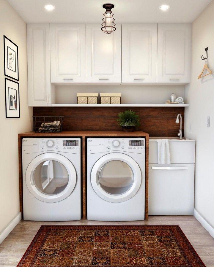 Photo of 15 Minimalist Small Laundry Room Design And Decor Ideas