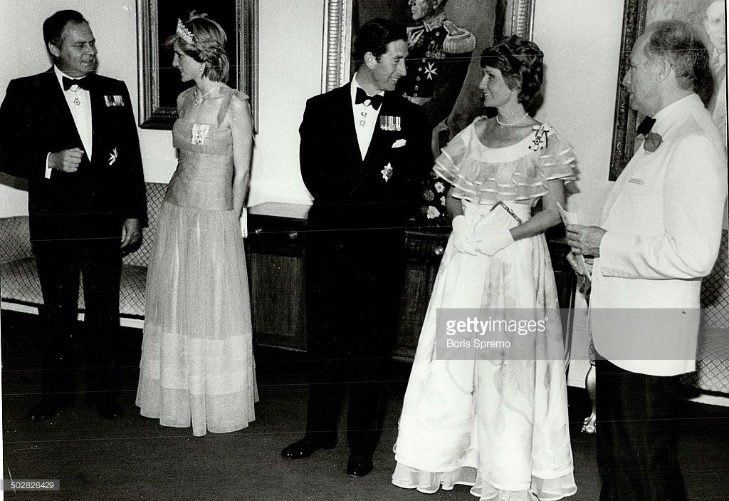 News Photo : Prince Charles and Princess Diana