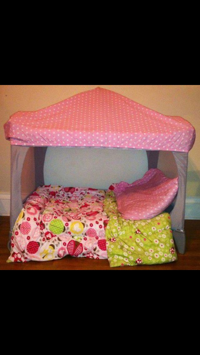 Old Portacot Converted To Cubby Reading Tent Pack And Play Pack N Play