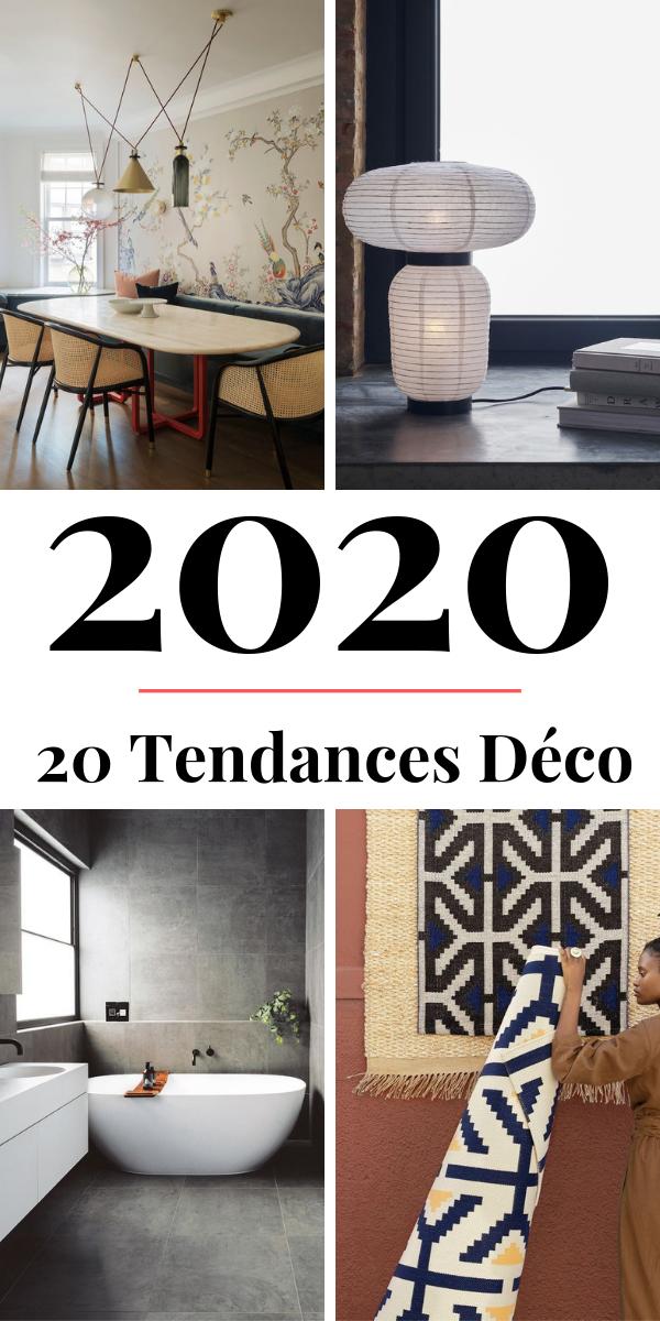 Tendance Déco 2020  Couleurs, Matières, Idées, Inspirations