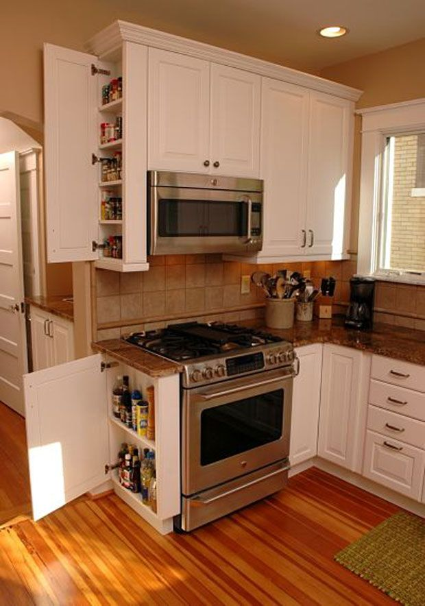 Kitchen Design Small Remodel, Narrow Kitchen Cabinets For Small Spaces