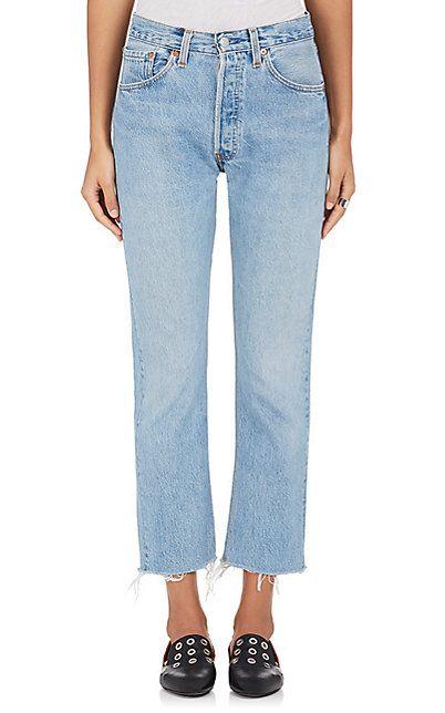 7e3c0e2f13e8 RE DONE High Rise Crop Flare Jeans - Jeans - 504192576