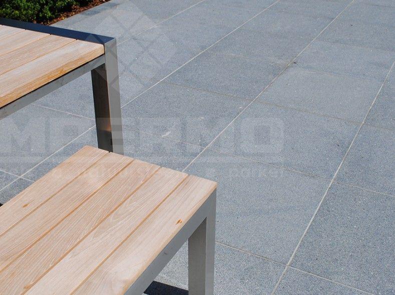 impermo pepperino graniet gevlamde natuursteen voor terras of als zwembadtegel