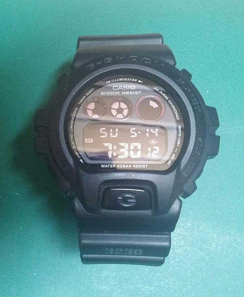 ad5a4aac8e9 Used Casio G-Shock DW-6900MS-1 Military model 3230 Module CLEAN! #GSHOCK  #Military