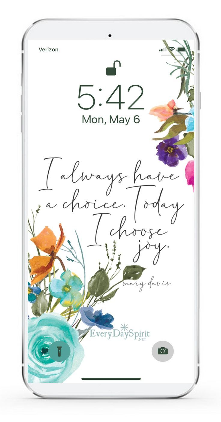 An app of over 950 mobile phone wallpapers with positive