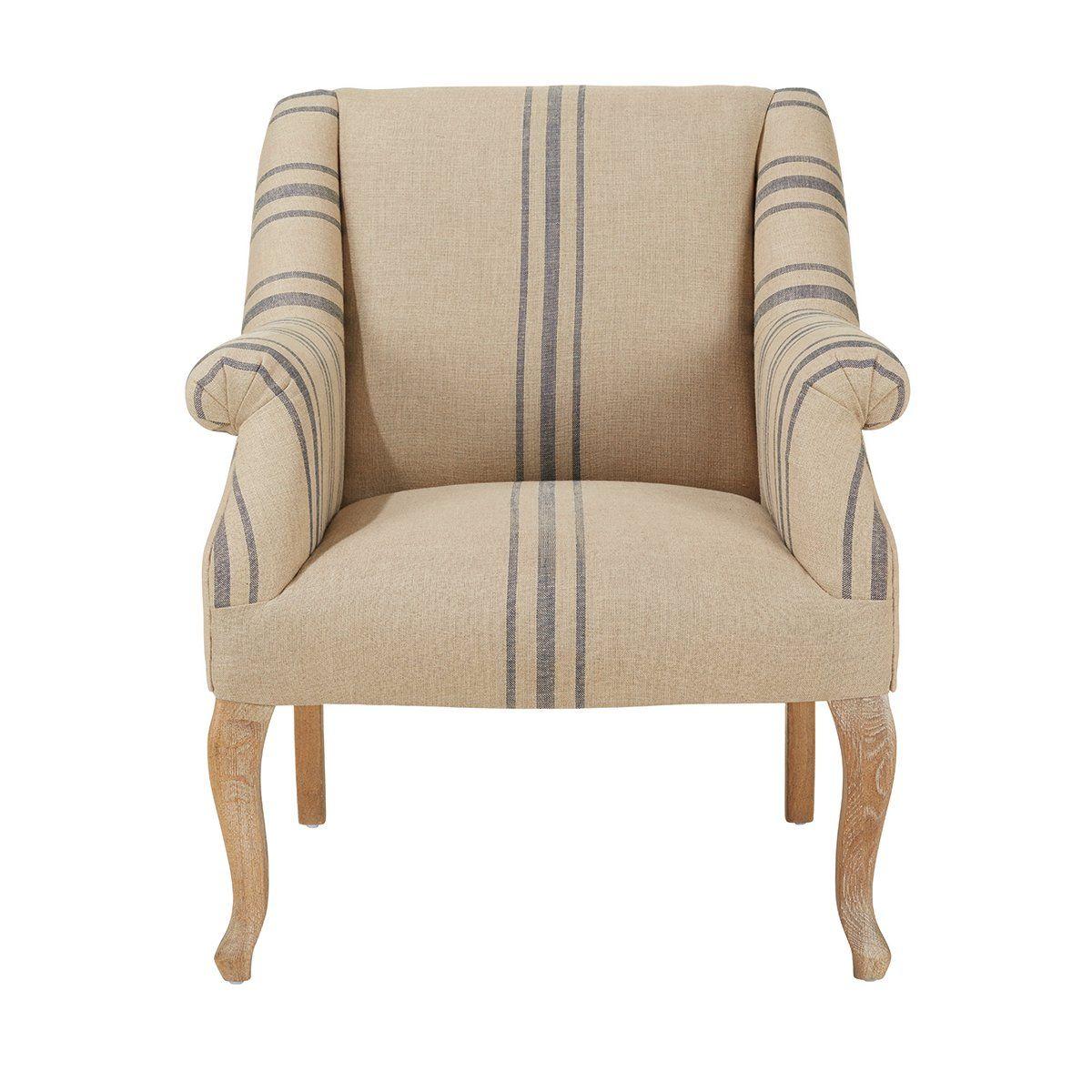 Polperro Armchair - Blue | Blue armchair, Armchair ...