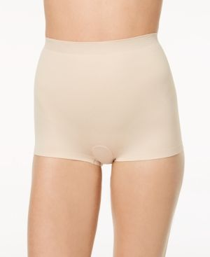 07131d3830c Maidenform Women s Cover Your Bases Firm-Control Smoothing Boyshort DM0034  - Tan Beige XXL