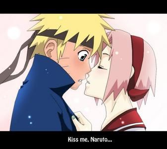 Naruto X Sakura Kiss Classic - naruto and sakura kissing ... Naruto Shippuden Naruto And Sakura Kiss
