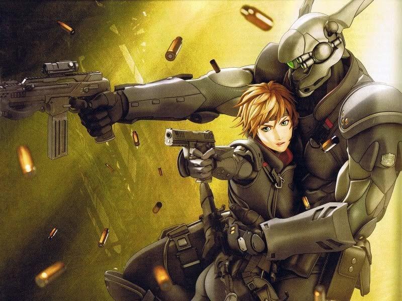 Appleseed Ex Machina Briareos Y Deunan Anime People Anime Anime Funny