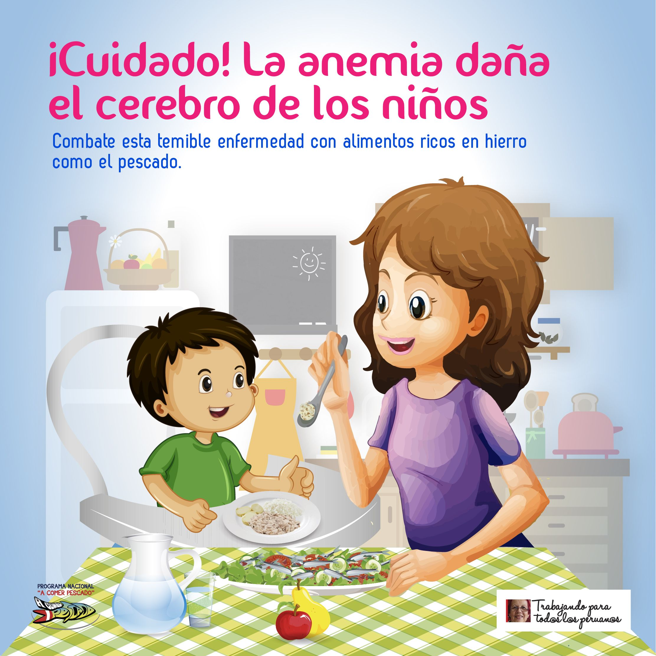 datos de dieta equilibrada para niños