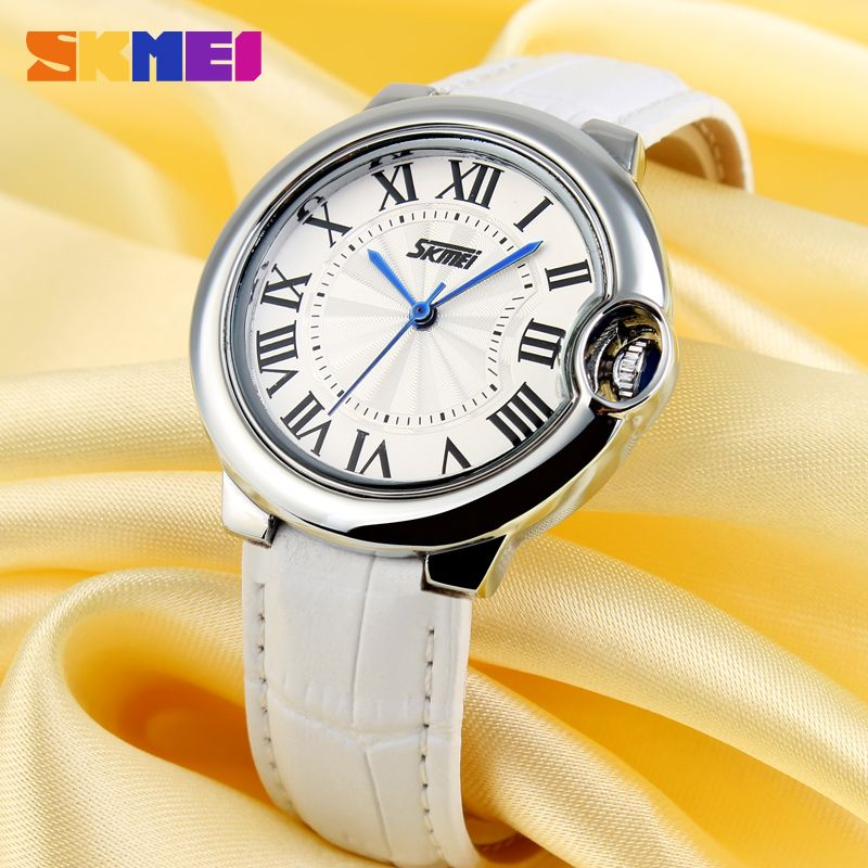 Ladies Leather Wrist Watches Skmei Latest Watch Design For Girls ...
