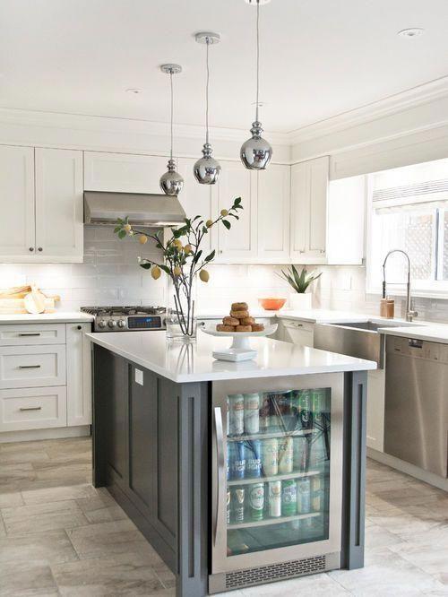 25 Best Kitchen Ideas Remodeling Photos Houzz Transitional Kitchen Design Kitchen Remodel Small Kitchen Remodel Layout