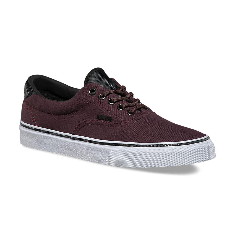 Vans / Men's Era 59 Sneakers / Iron Brown/White