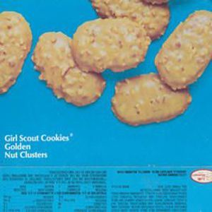 Discontinued Scout cookies Juliettes Golden Nut Clusters With ... on
