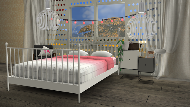 sims 4 cc 39 s the best ikea leirvik bed frame and hay bed. Black Bedroom Furniture Sets. Home Design Ideas