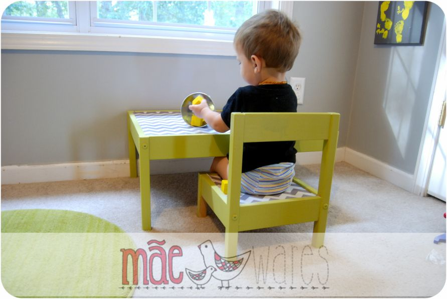 Diy montessori table from ikea baby baby pinterest for Ikea montessori hack