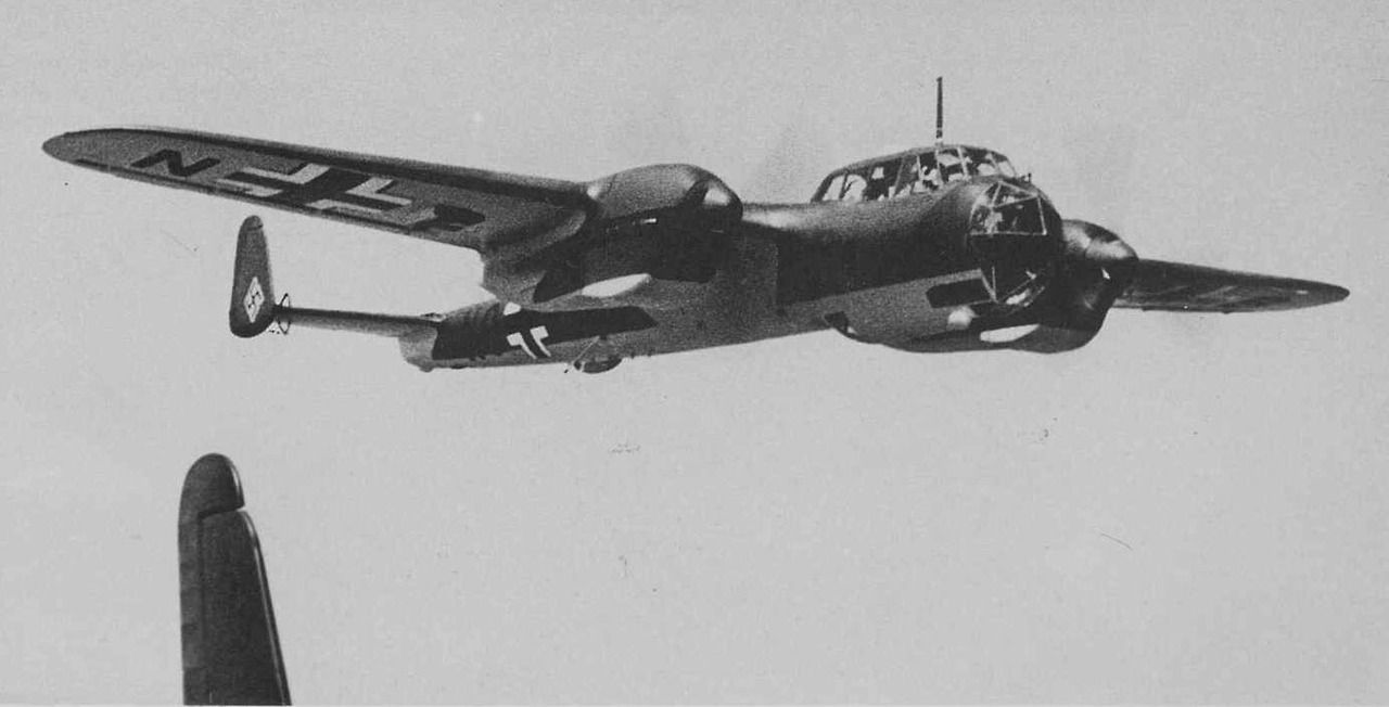 """The Dornier Do 215 was a light bomber, aerial reconnaissance aircraft and later a night fighter, produced by Dornier originally for export, but in the event all except two served in the Luftwaffe. Like its predecessor, the Dornier Do 17, it inherited the title """"The Flying Pencil"""" because of its slim fuselage. The successor of the Do 215 was the Do 217."""