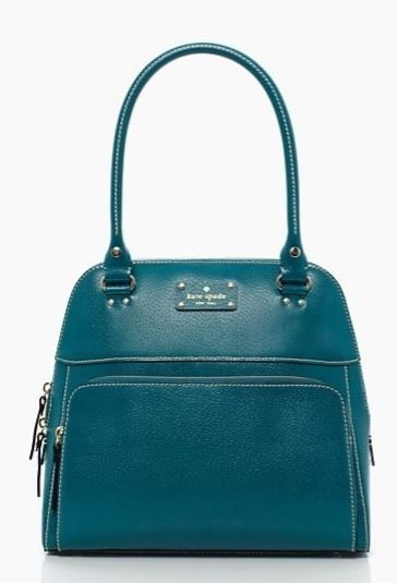 KATE SPADE WELLESLEY SMALL MAEDA Bag Purse ~ PEACOCK Teal Leather - New NWT   428  katespade  ShoulderBag 05bc7be7450d0
