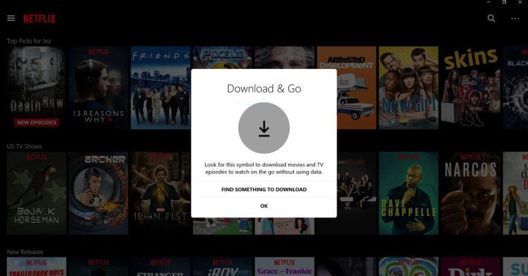 Netflix brings offline viewing to Windows 10 PCs and