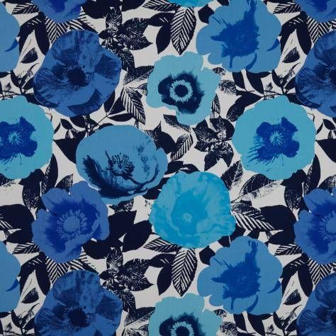 Prestigious Textiles Diva Fabrics Madone Fabric - Azure - 5826/707