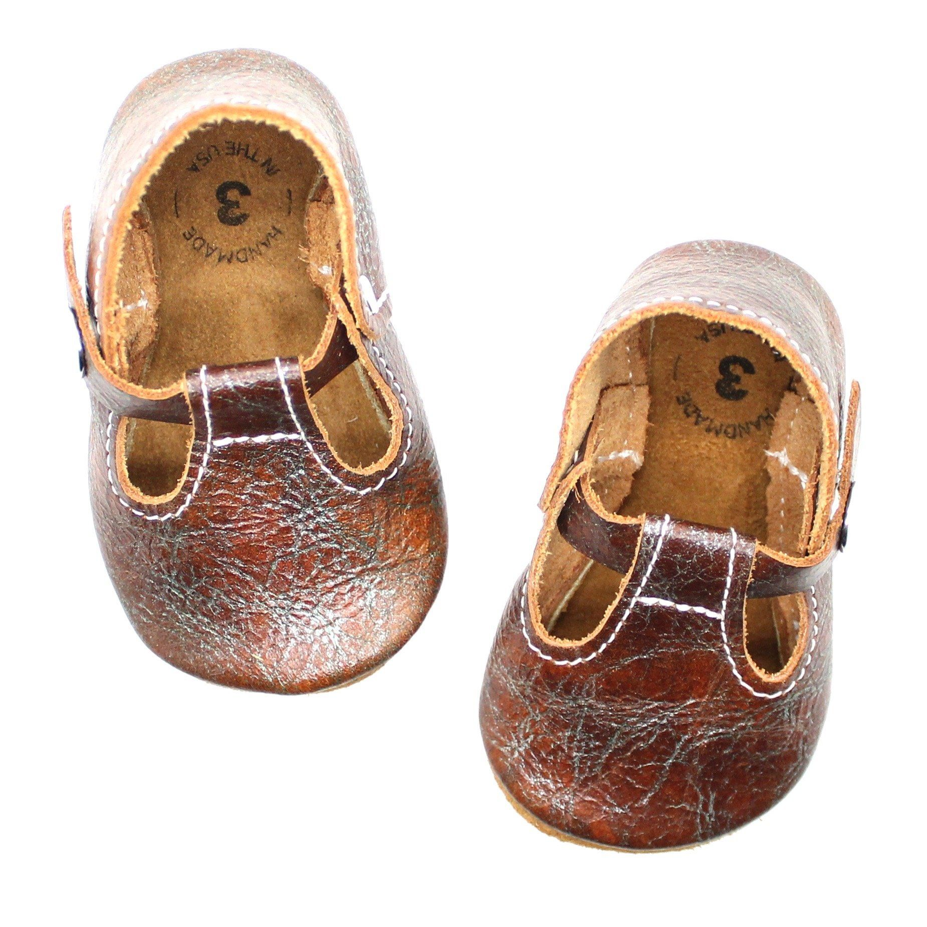 Our original soft soled t strap shoes are the perfect shoe for your