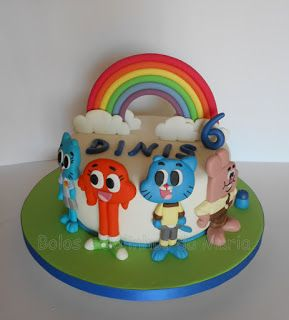 Gumball Parabens Dinis Cake The Amazing World Of Gumball