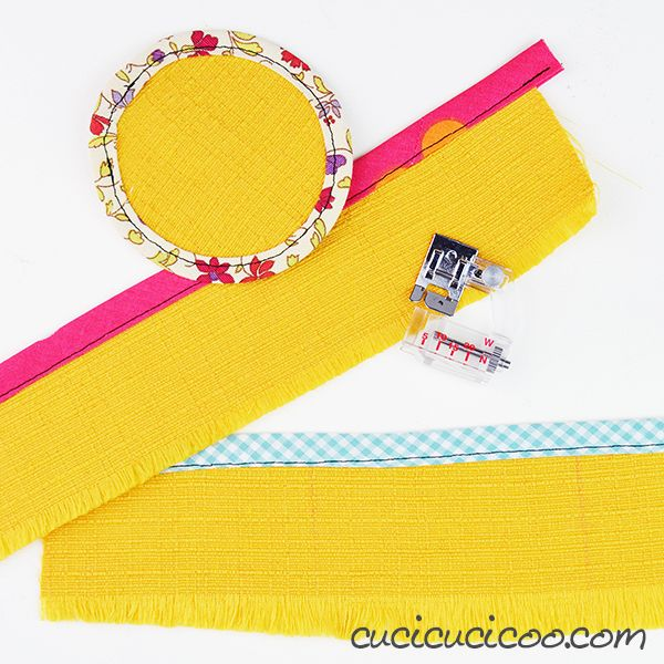 How To Sew With A Bias Binding Foot
