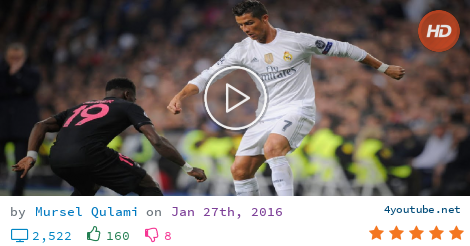 5d7c091f6 Download video and mp3 Cristiano Ronaldo - Best Skills   Goals 2016 HD -  (size