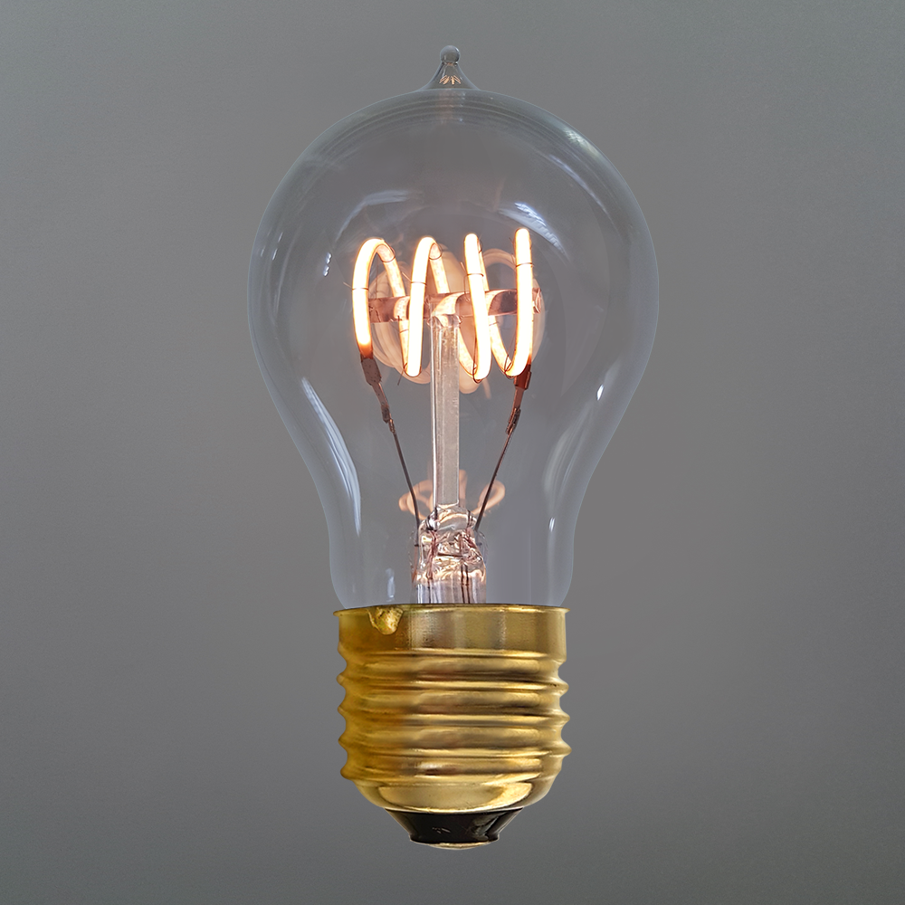 4 Watt Vintage Quad Loop Dimmable Gls Led Filament Bulb E27 Filament Bulb Vintage Led Bulbs Light Bulb Design