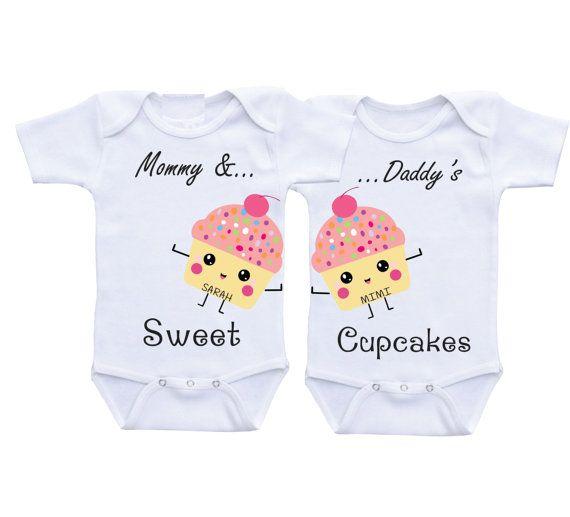 Twin girl onesies Twin baby gift Twin girl outfits Twin onesies Twin baby clothes Twins outfits Twins onesies Twin outfits Twin baby shower