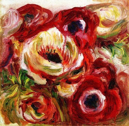 Anemones - Pierre Auguste Renoir