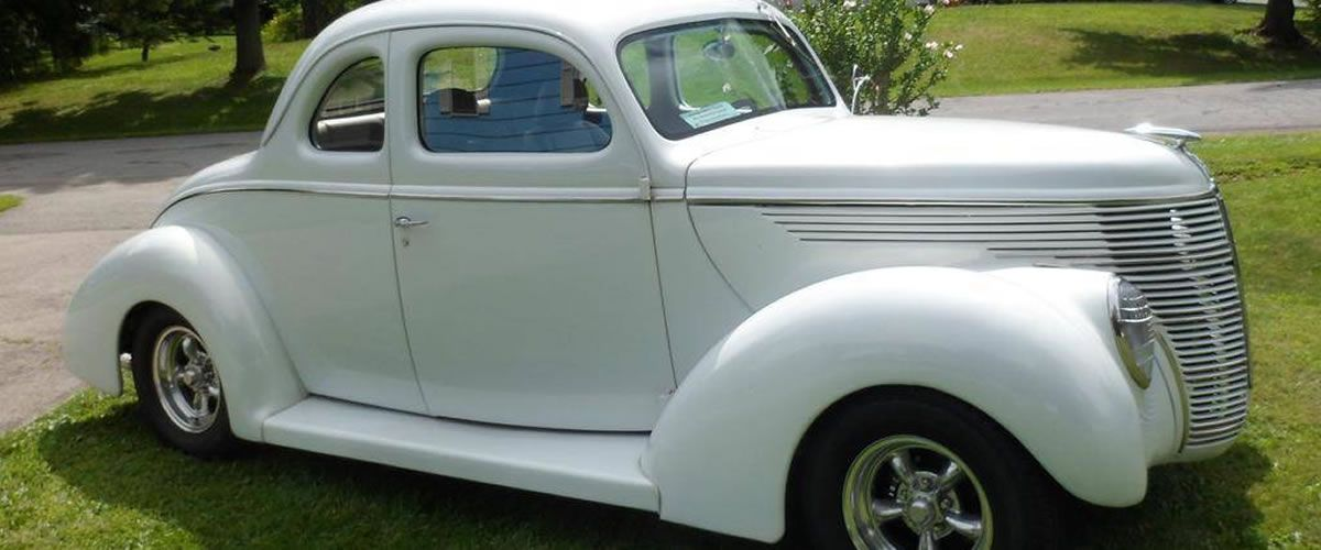 1938 Ford 5-Window Coupe For Sale - New York | Classic Cars - Ford ...