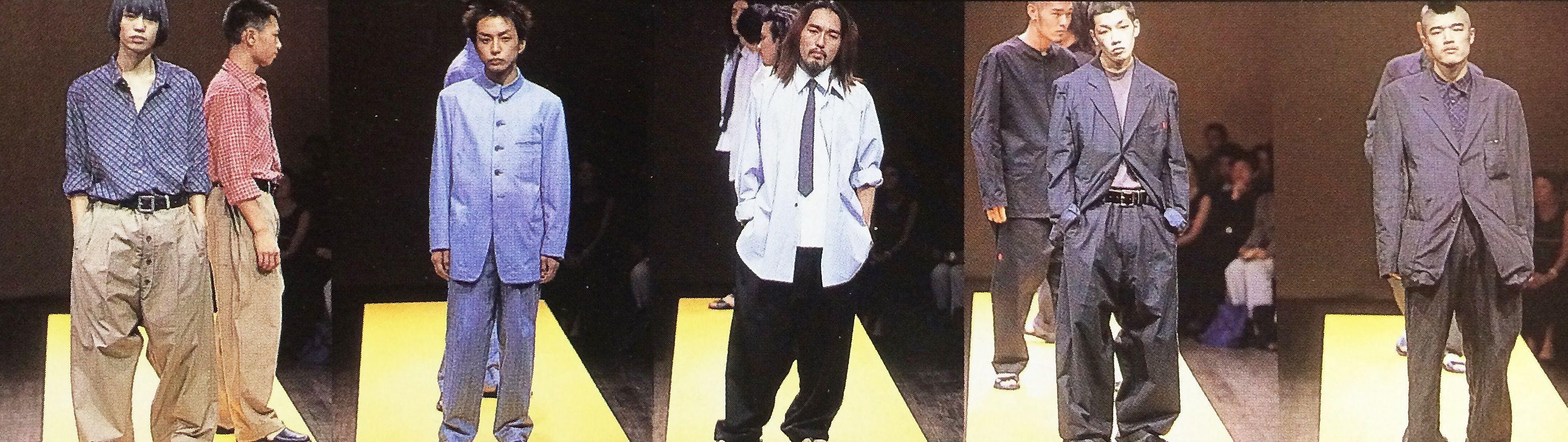 Yohji Yamamoto 2000s/s