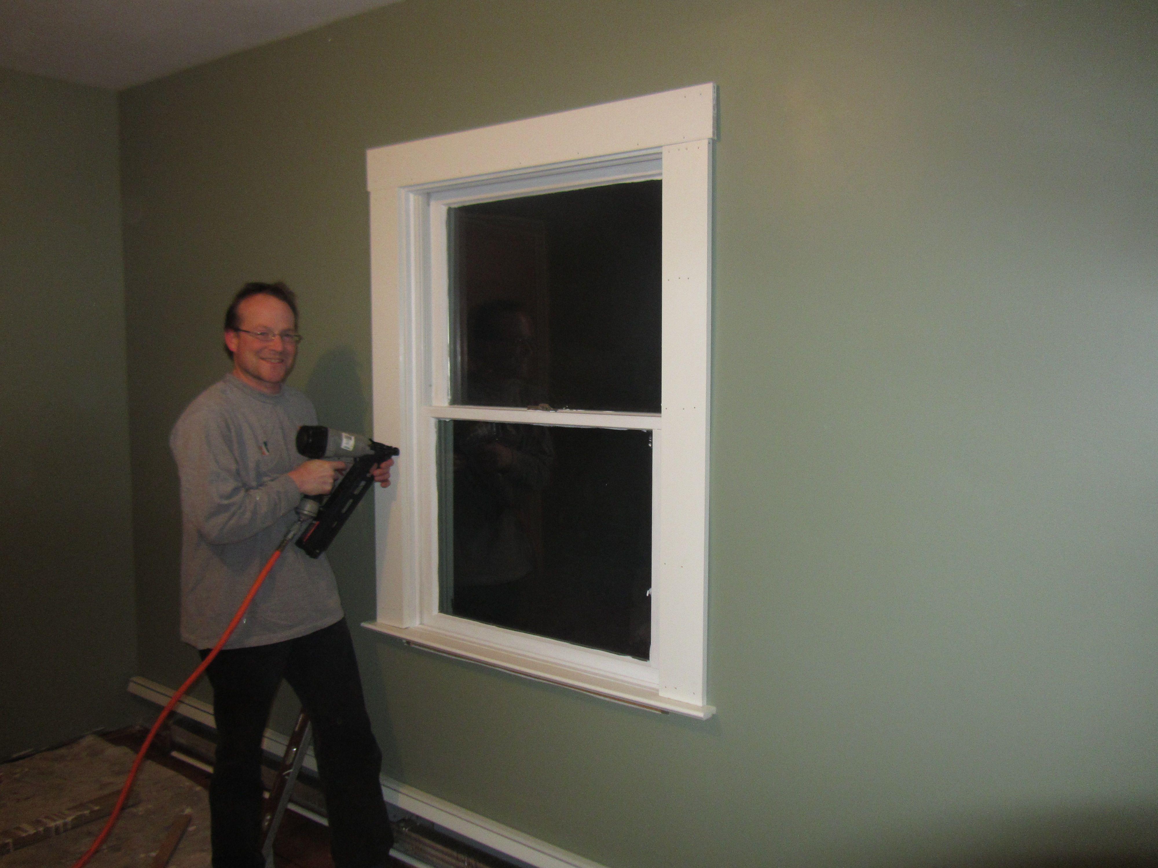 Modern window trim interior google search interior for Modern interior window trim