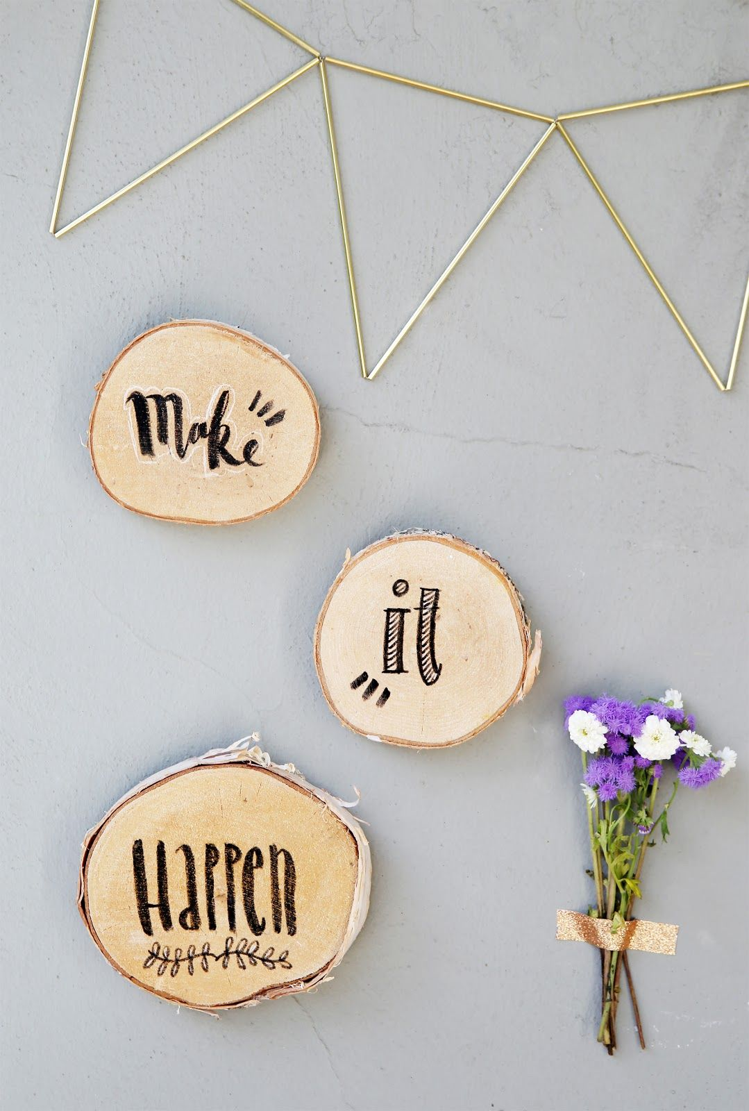 Holz Selber Beschriften Diy Lettering Auf Holz Do It Yourself Lettering