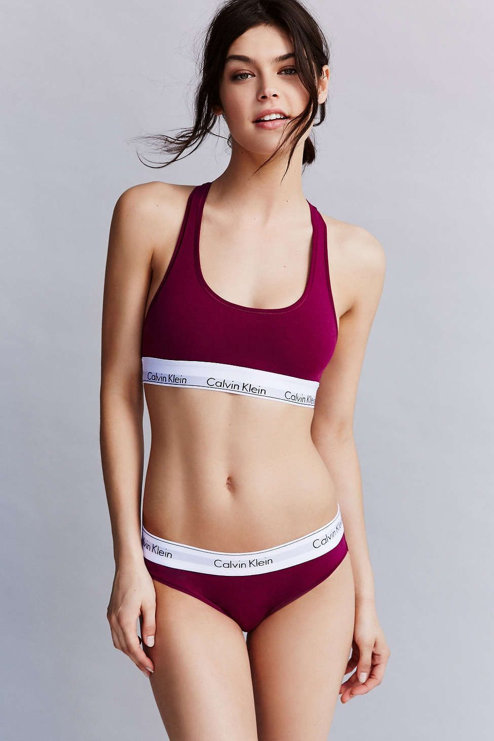 f88122724a Discover the classically cool Modern Cotton bralette + bikini in this   urbanoutfitters-exclusive color.  mycalvins  UOonYou. Calvin Klein ...