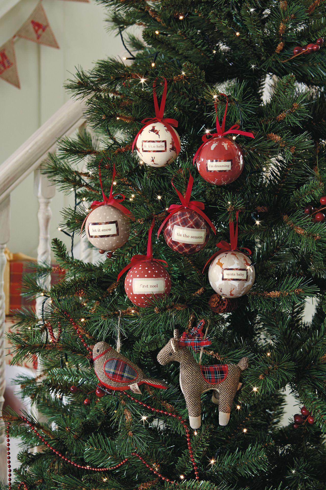 Decorating The Tree Next Home Style Christmas Christmas Wreaths Tree Decor