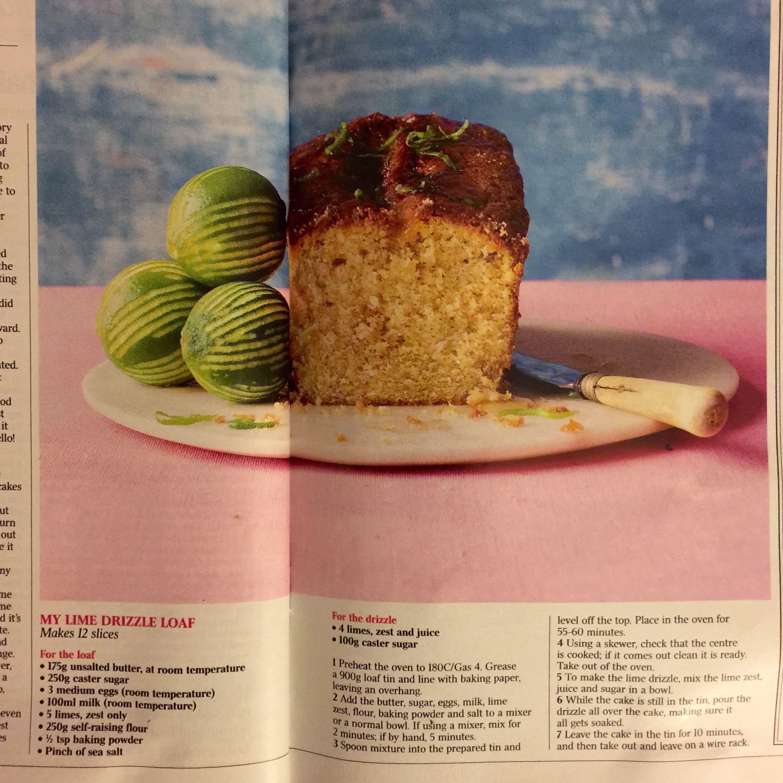 Nadiya Hussain S Lime Drizzle Cake