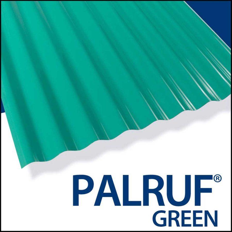 Palruf PVC Panel 12 ft x26 Green Pvc panels, Diy roofing