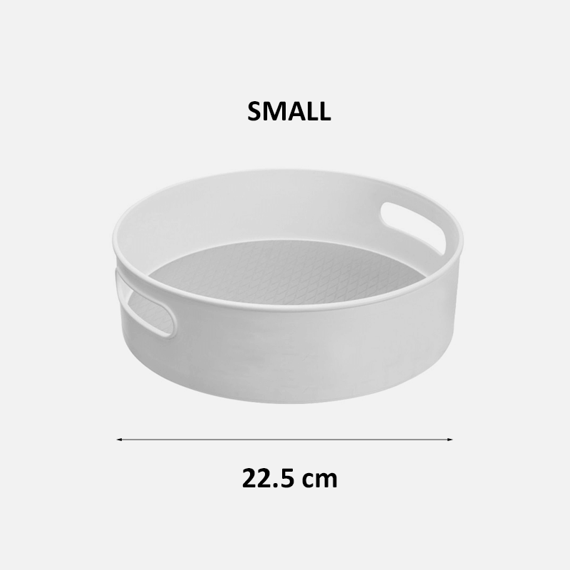Turntable Organizer - Gray small