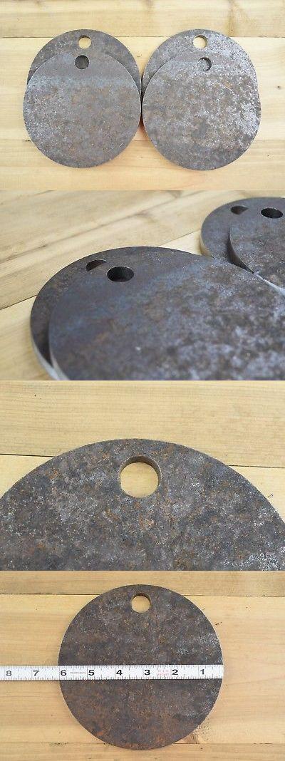 "AR500 Steel Bulk 150 2"" 3//8"" Gong Blemishes"