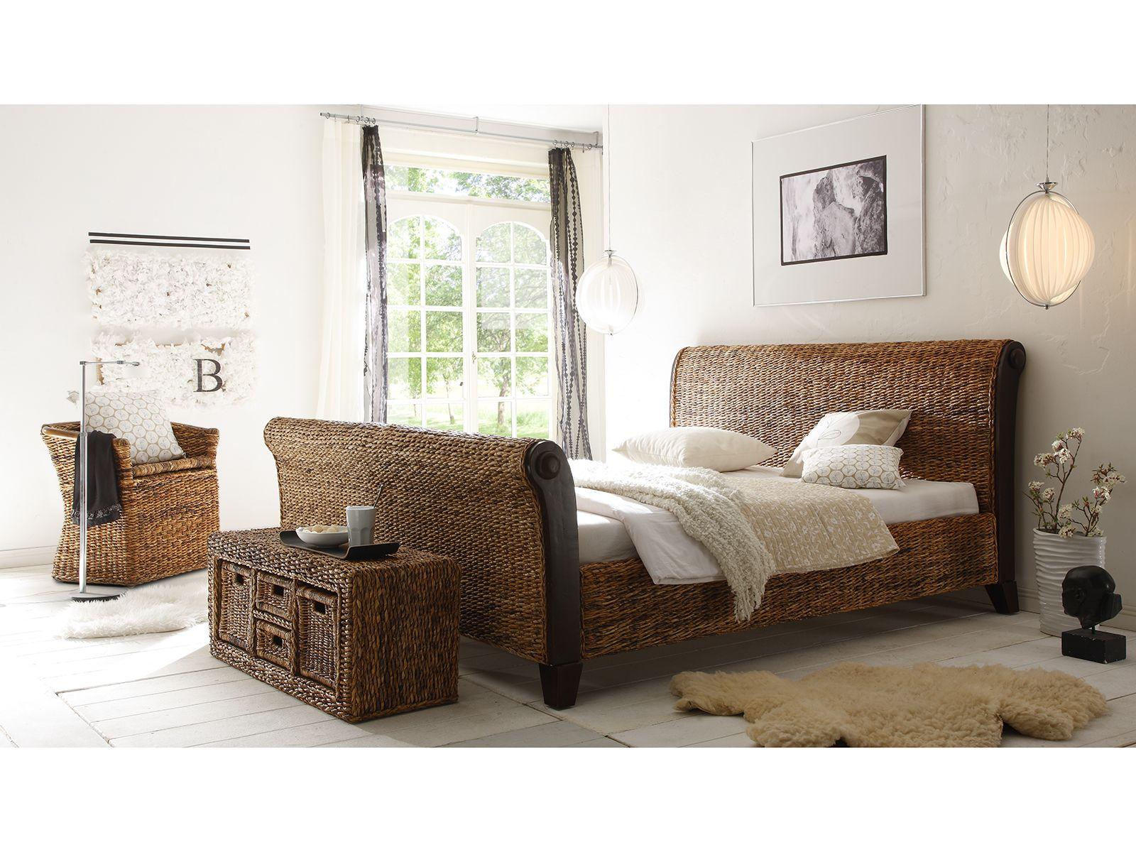 Rattanbett camillo by massivum schlafzimmer einrichtungsideen pinterest einrichtungsideen - Rattan schlafzimmer ...