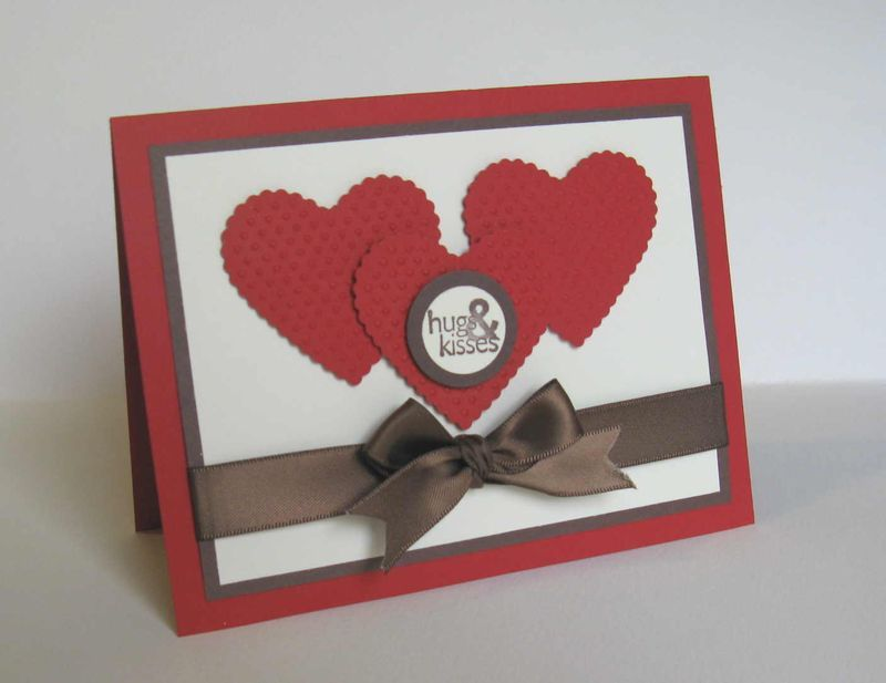 stampin up valentines day card ideas google search