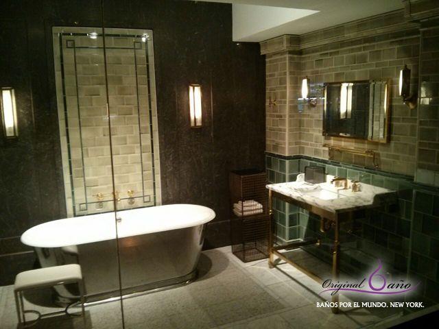 Baños Por El Mundo New York Hotel Plaza Os Describo Este Baño De