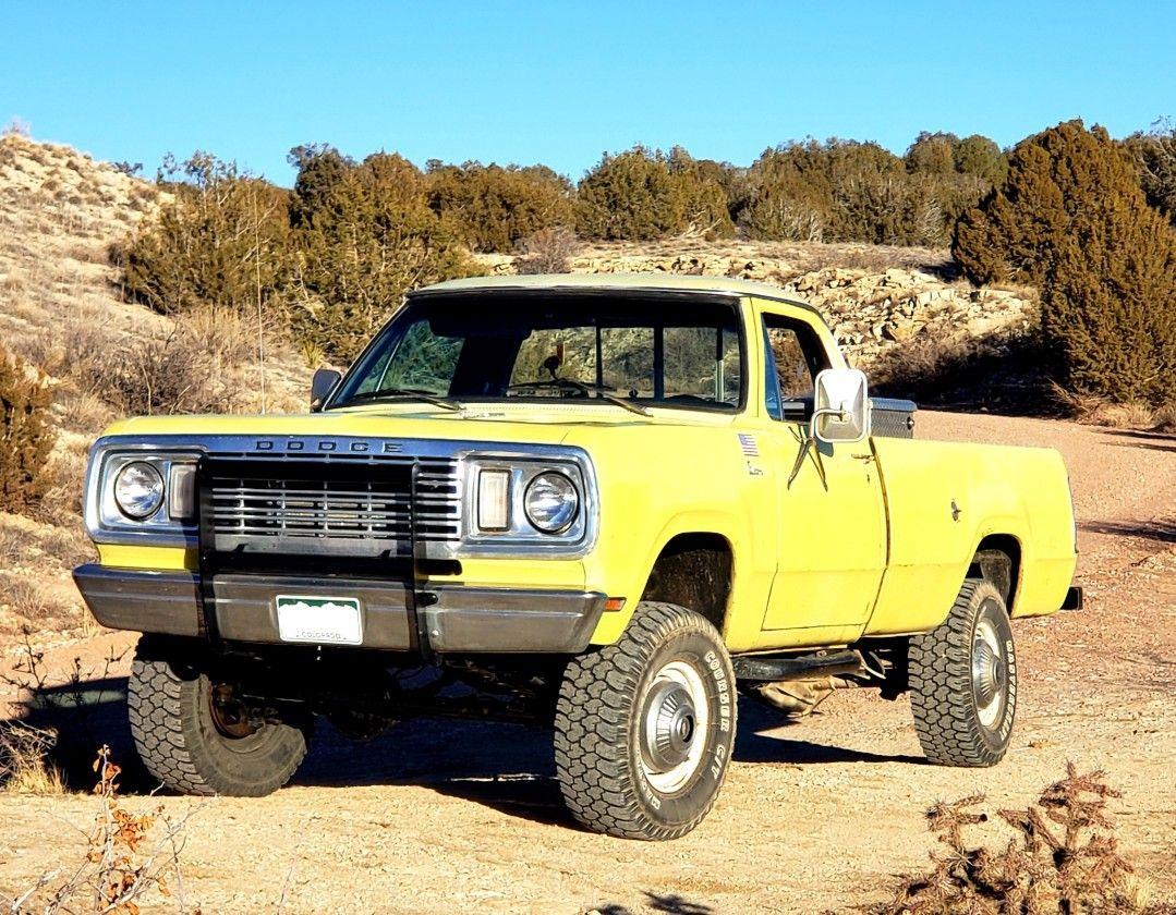 1977 Dodge Powerwagon Old Dodge Trucks Dodge Trucks Dodge Pickup