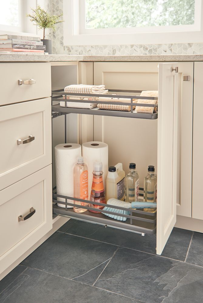 5322 Two Tier Base Organizer With Images Rev A Shelf Kitchen